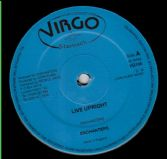 Enchanters - Live Upright / version (Virgo Stomach) UK 12""